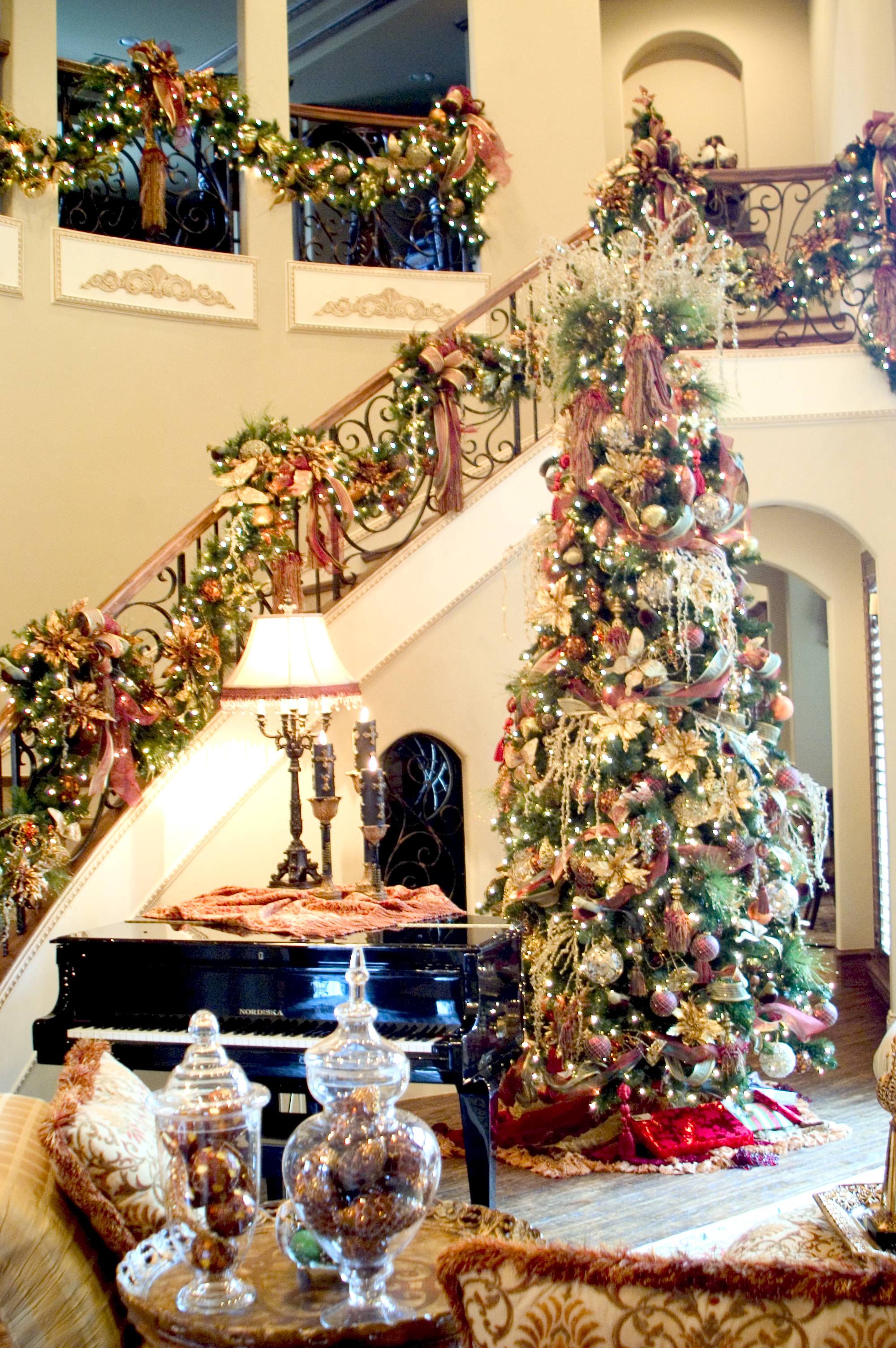 On Style Today 2020 09 13 Captivating Christmas Decorating Home Interior Design Here